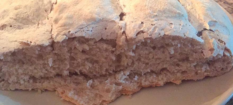 Pão com Fermentação Natural - Foto: Chef Rebecca Aguiar