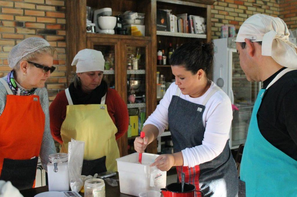 Oficinas de Pães de Fermentação com a Chef Rebecca Aguiar